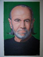 George Carlin by RacieB