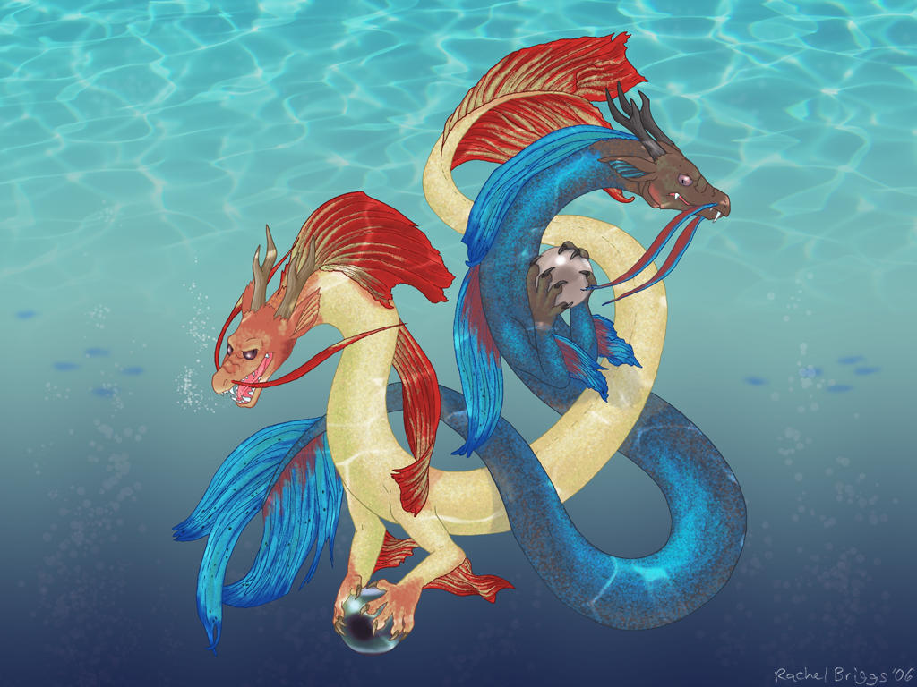 Betta Dragons by RacieB on DeviantArt