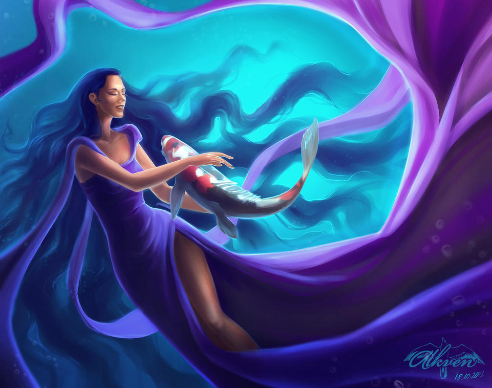 Zodiac Virgo And Pisces By Alkven