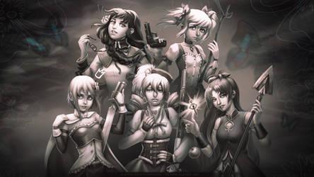 Madoka magica wallpaper