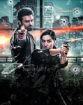 SaHoo Movie Poster