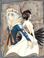 Prince and Princess by andrael