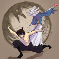 Prince and Princess II by andrael