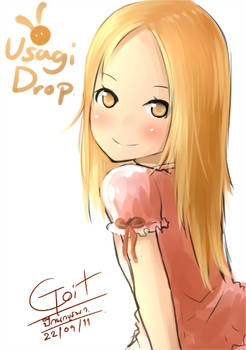 FanArt-Usagi Drop