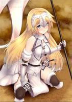 Jeanne d'Arc- Fate/Grand Order by peeknokboorapa-go-it