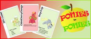 Ponies to Ponies (Ponified Apples to Apples!)