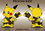 Pikachu Base - Bandolier Packs
