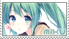 Vocaloid Stamp - Hatsune Miku Cute by FakeTsuki