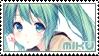 Vocaloid Stamp - Hatsune Miku Cute by FakeTsuki