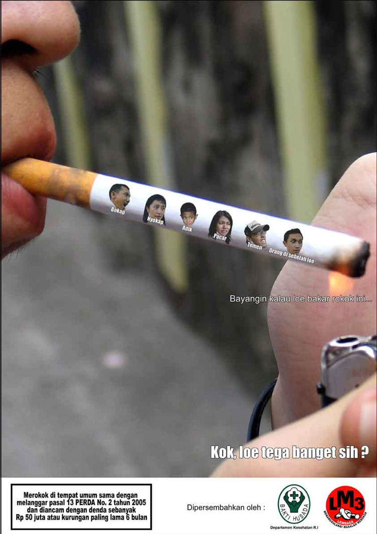 Cigarette Poster by Wijaya