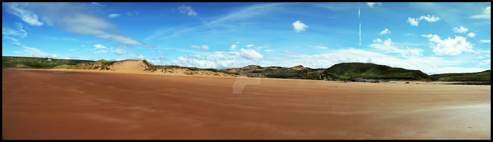 Amazing Beach Landscape Panorama by BenBrotherton