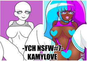 YCH#7 NSFW HOT by Kamylove