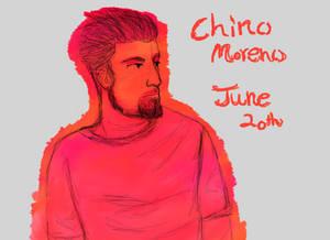 Happy Birthday Chino Moreno (June 10th)
