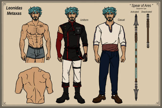 Leonidas Metaxas | D.Gray-Man OC