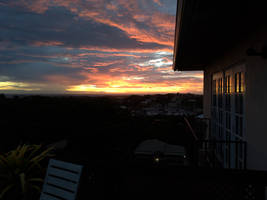 Grenada Balcony and sunset