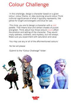 Colour Challenge - Cool Palette