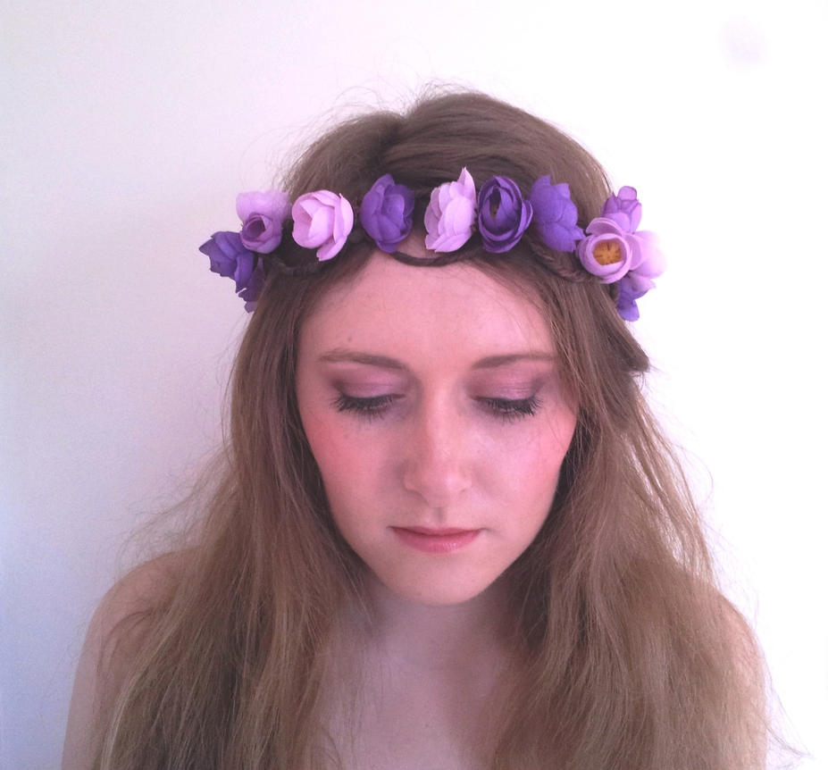 Flower Crown with Hair