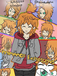 Expressions Selection 186 (Freya)