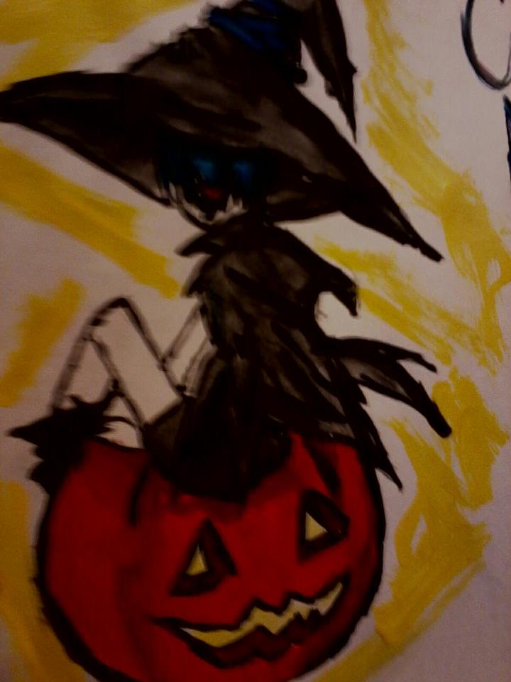 Happy Halloween!~ (Painted) Ciel Phantomhive Witch by inuyashalover204