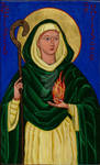 St. Brigid Icon
