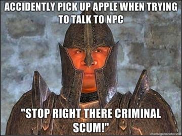Elder scrolls Oblivion meme by Ghostsammeo