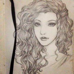 Sketch #1: Lady Astarelle by riiastarelle