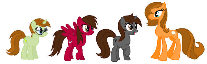 We are ponies