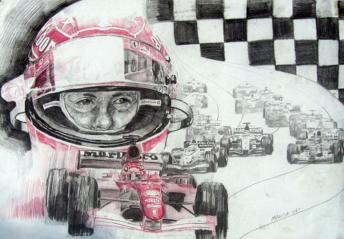 michael schumacher by Marcus86
