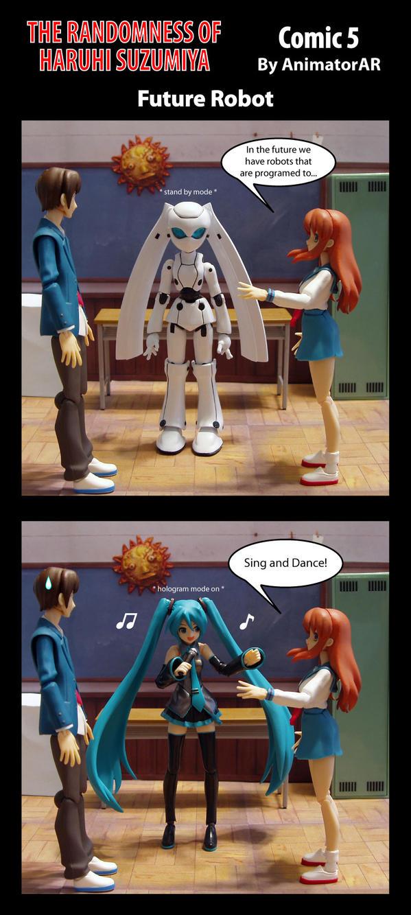 Future Robot by AnimatorAR
