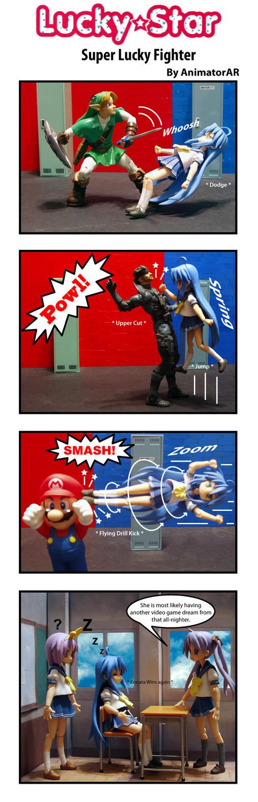 Super Lucky Fighter by AnimatorAR