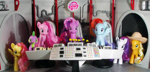 My Little Space Ponies - Pony In Space