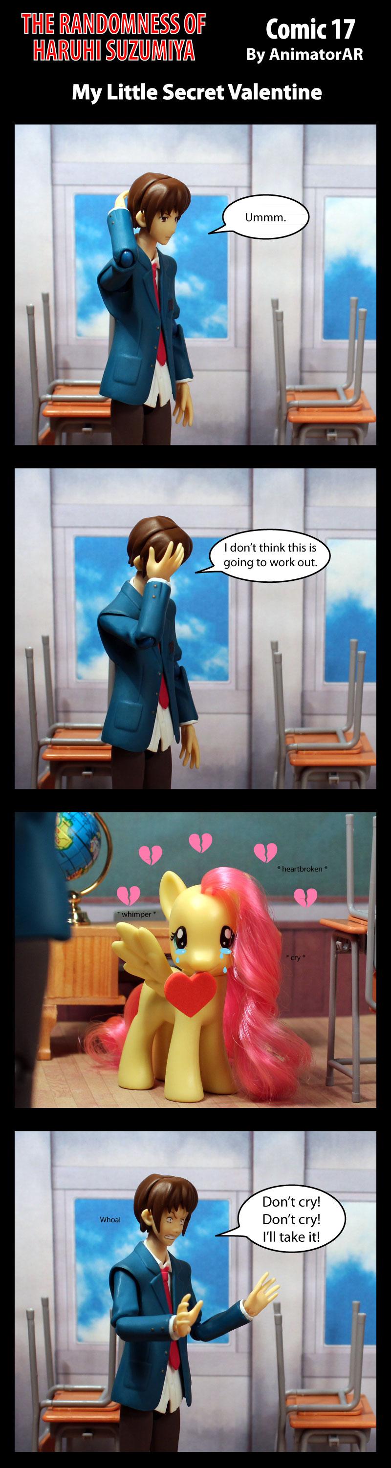 My Little Secret Valentine by AnimatorAR