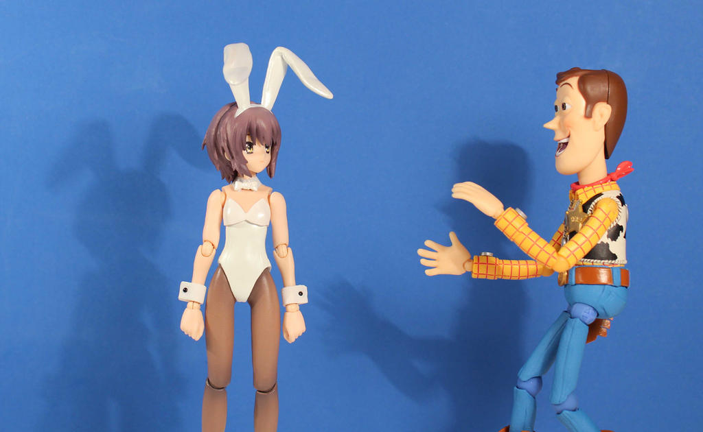 Bunny Yuki and Woody by AnimatorAR