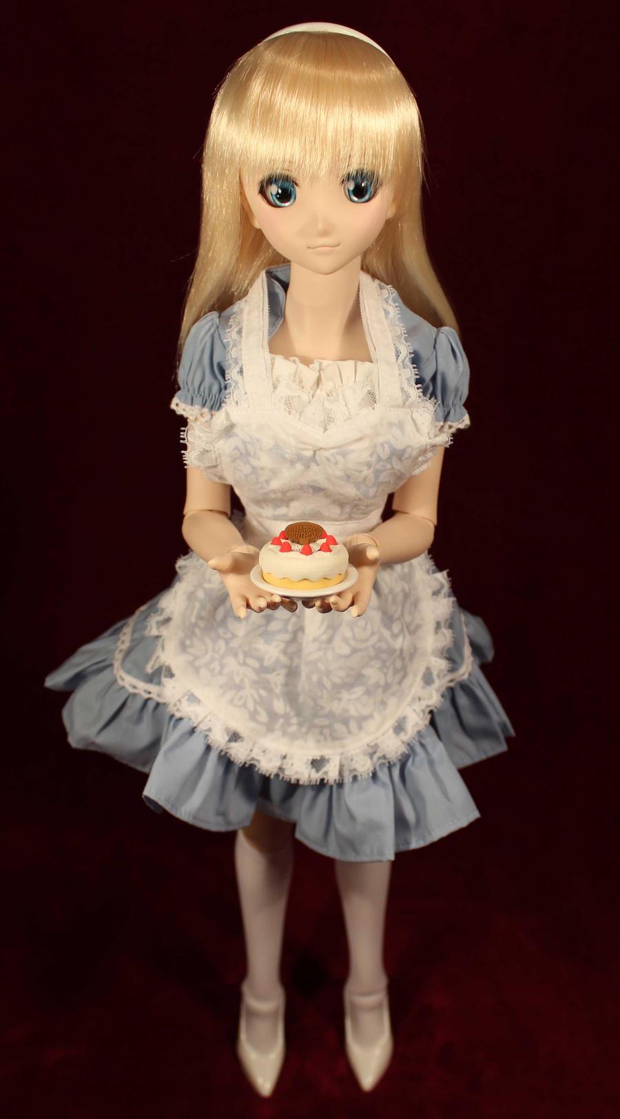 Happy Birthday Maid 1 by AnimatorAR