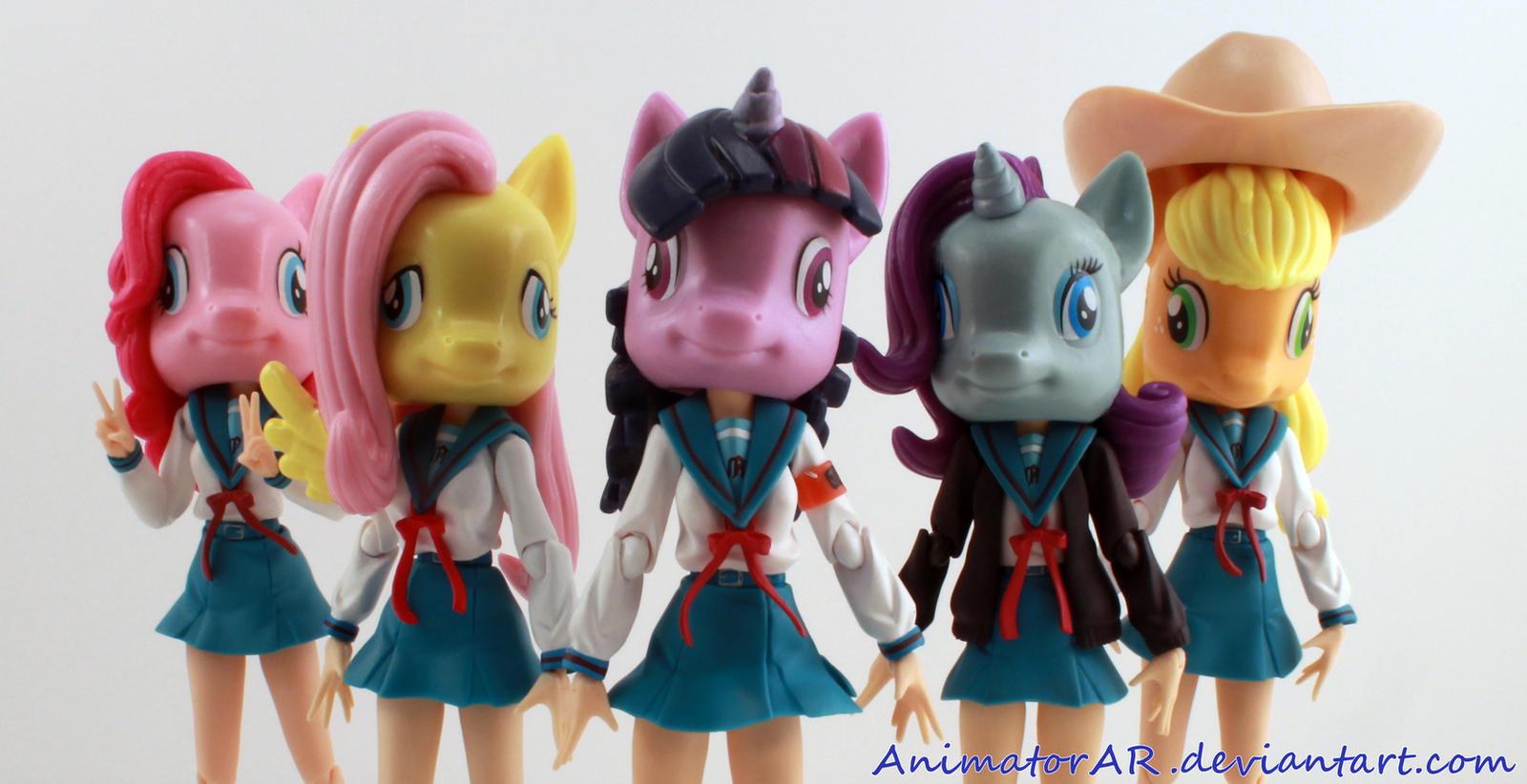 Equestria Girls by AnimatorAR