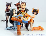 Woody's Neko Harem by AnimatorAR