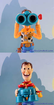 What Is Woody Looking At