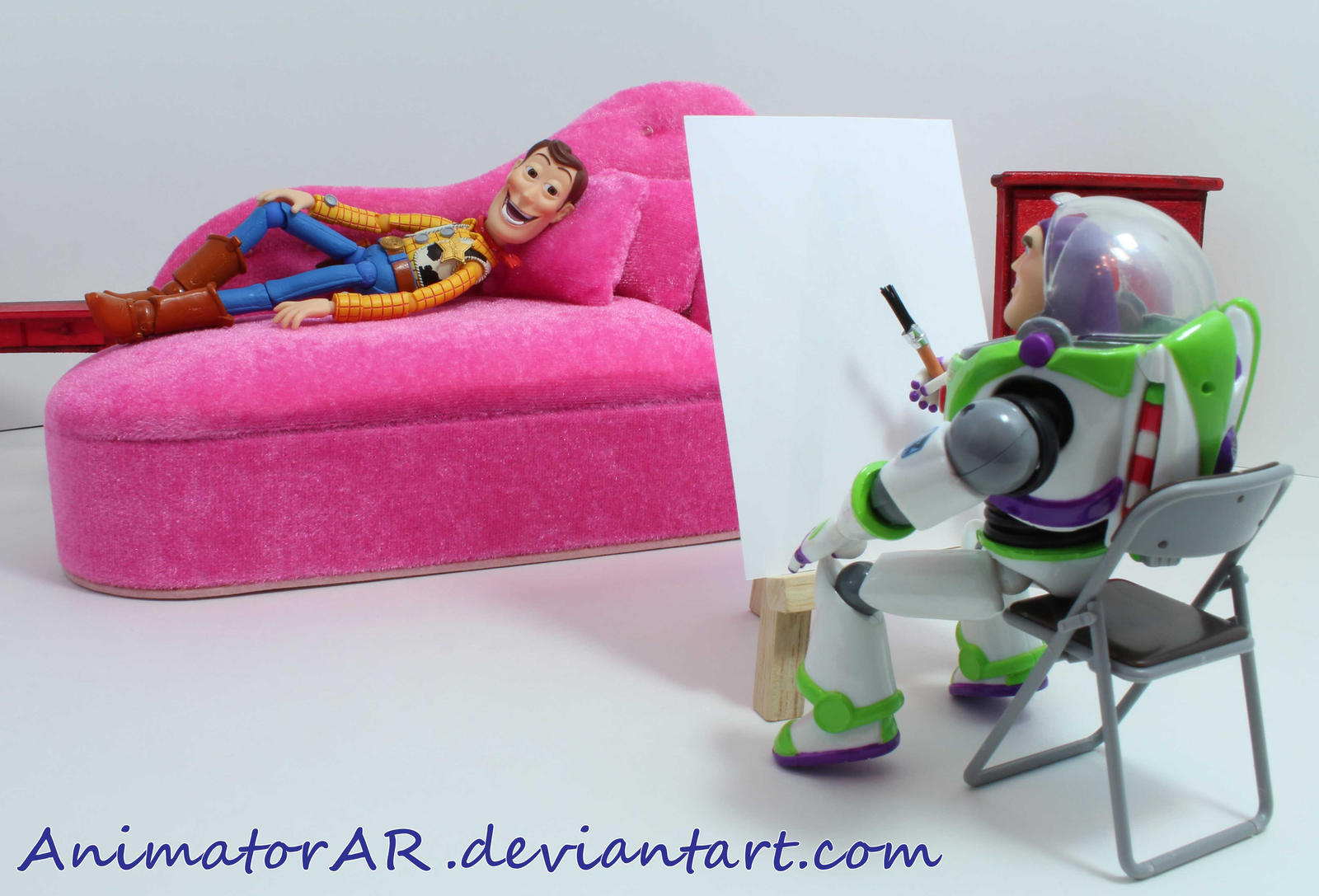 Draw Me Like Your French Girls - Woody - Updated by AnimatorAR