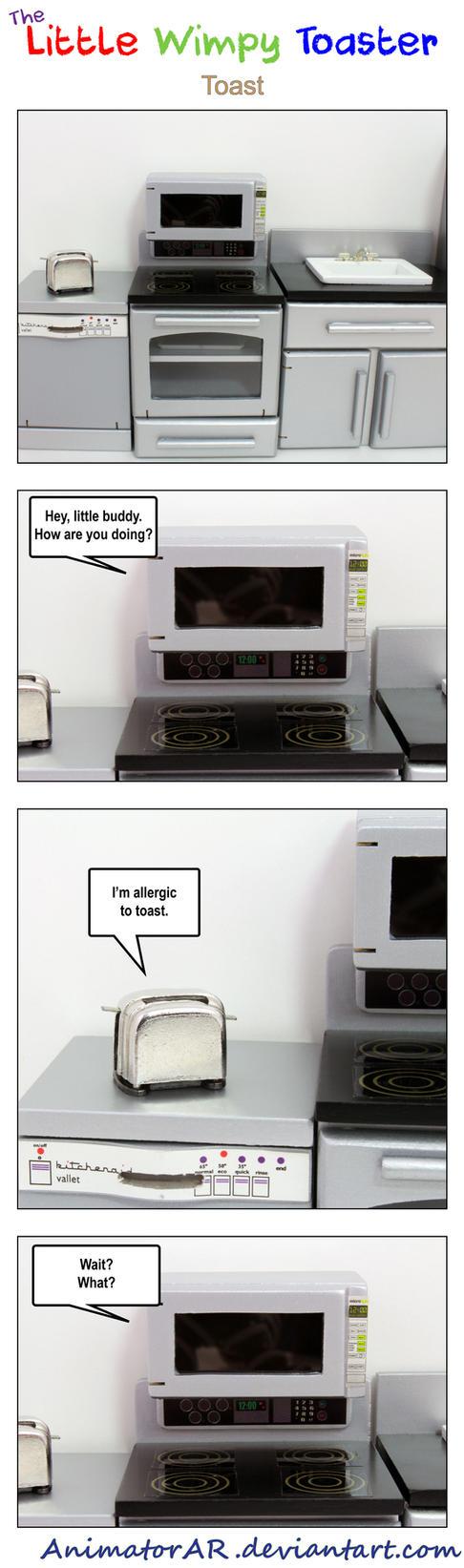 The Little Wimpy Toaster Comic 1 by AnimatorAR