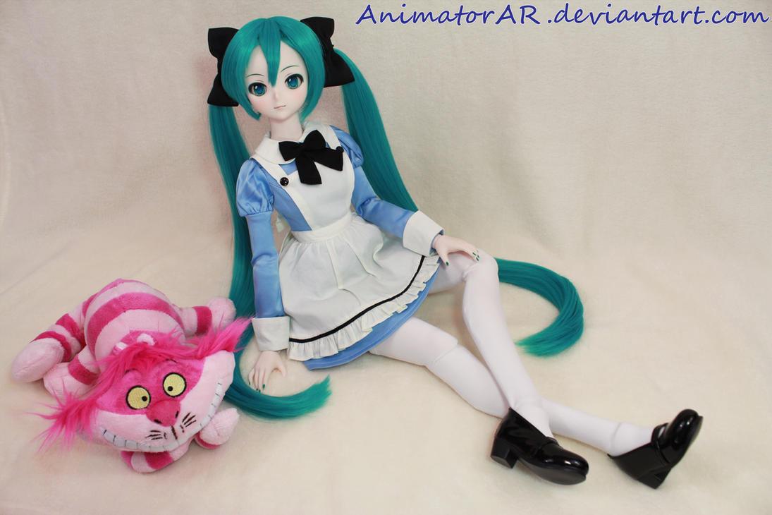 Miku In Wonderland by AnimatorAR