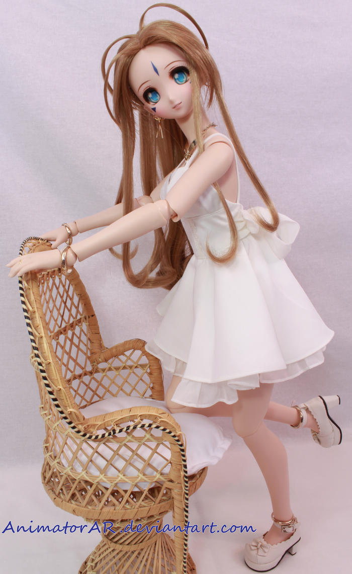 White Dress Goddess 2 by AnimatorAR