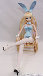 Blue BunnyGirl 3 by AnimatorAR