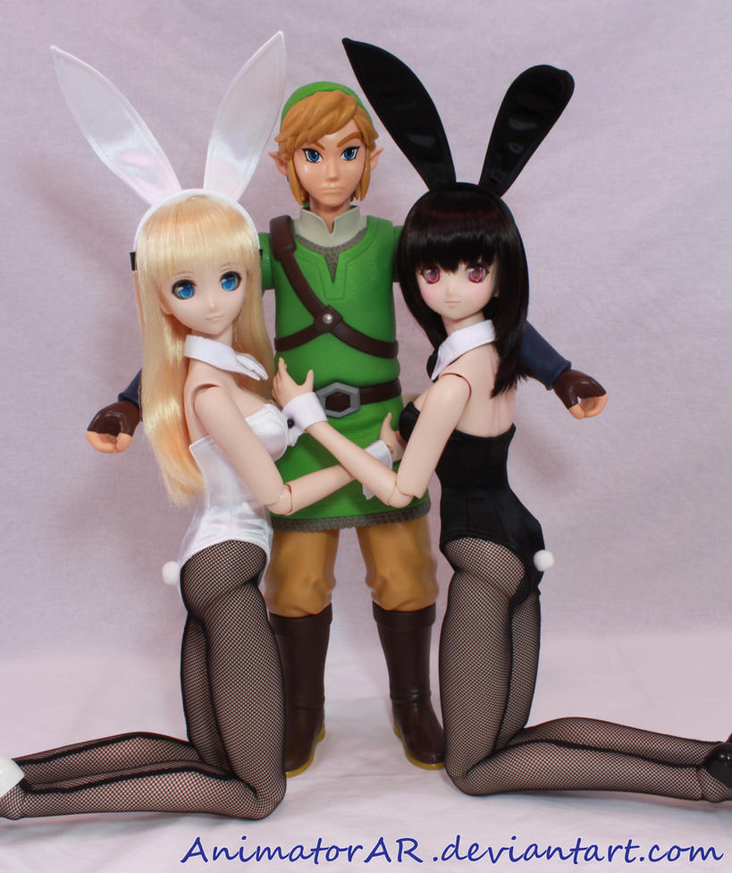 Link and his Bunny Girls by AnimatorAR