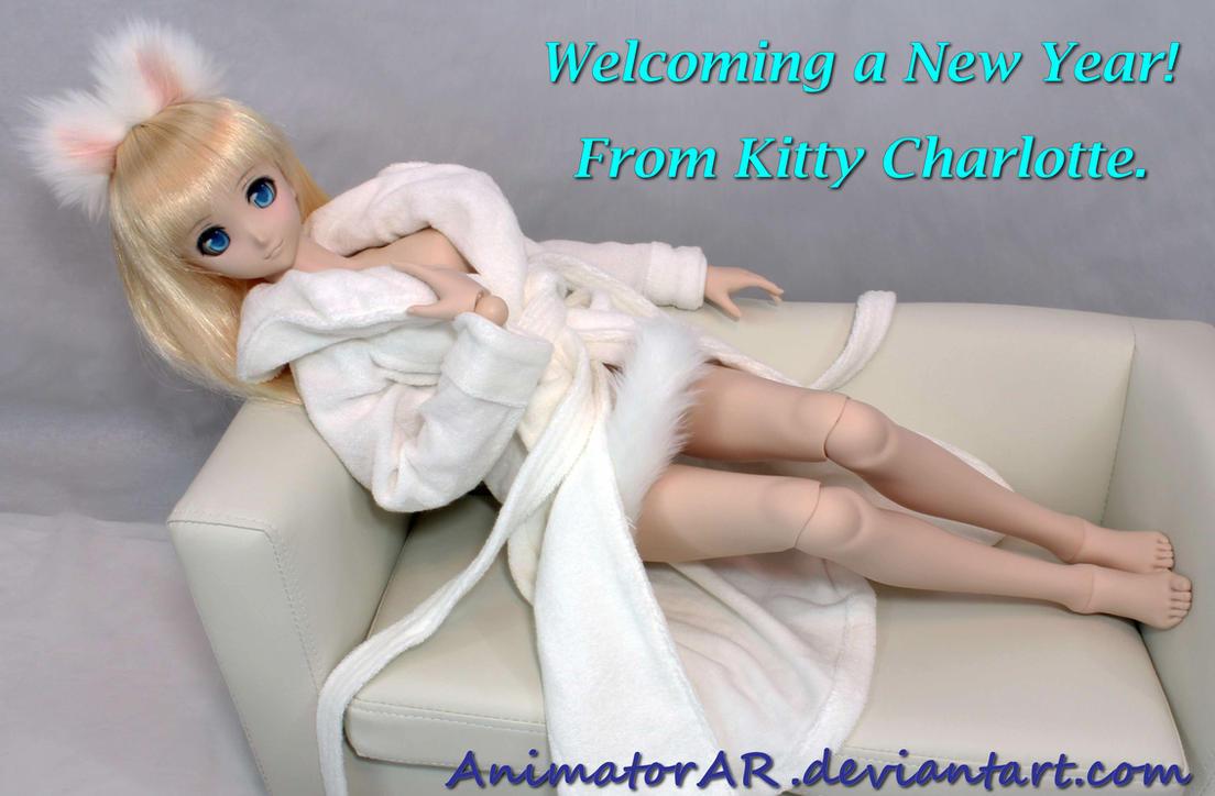 Happy New Year from Kitty Charlotte by AnimatorAR