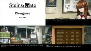 Steins Gate Divergence Visual Novel