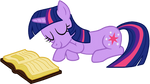 Twilight Sparkle Sleeping