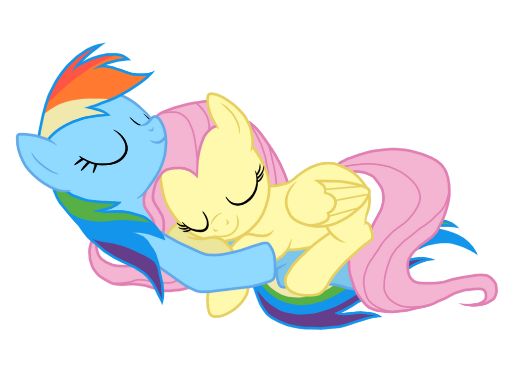 rainbow dash and fluttershy relationship