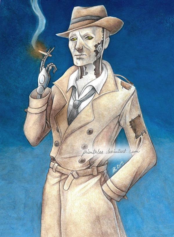 Nick Valentine By PrismTales ...