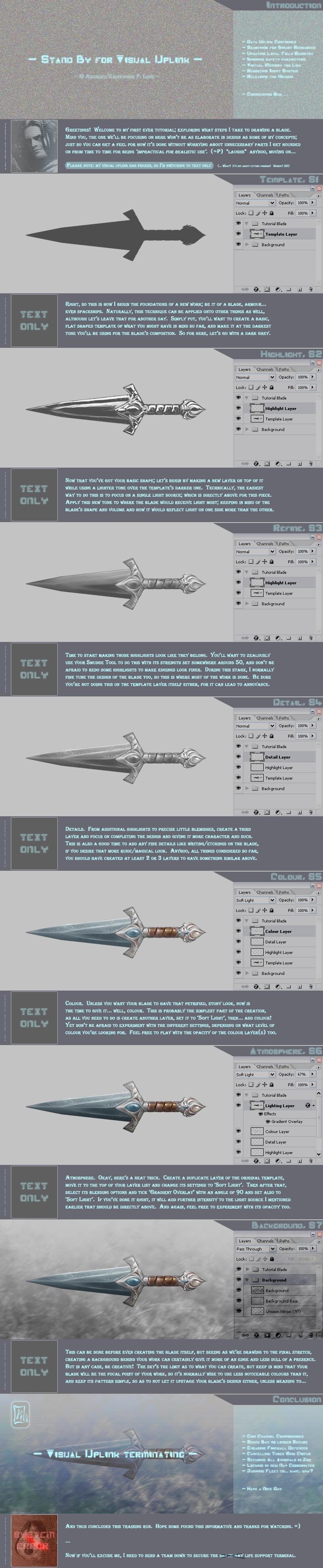 Blade Tutorial by Aikurisu