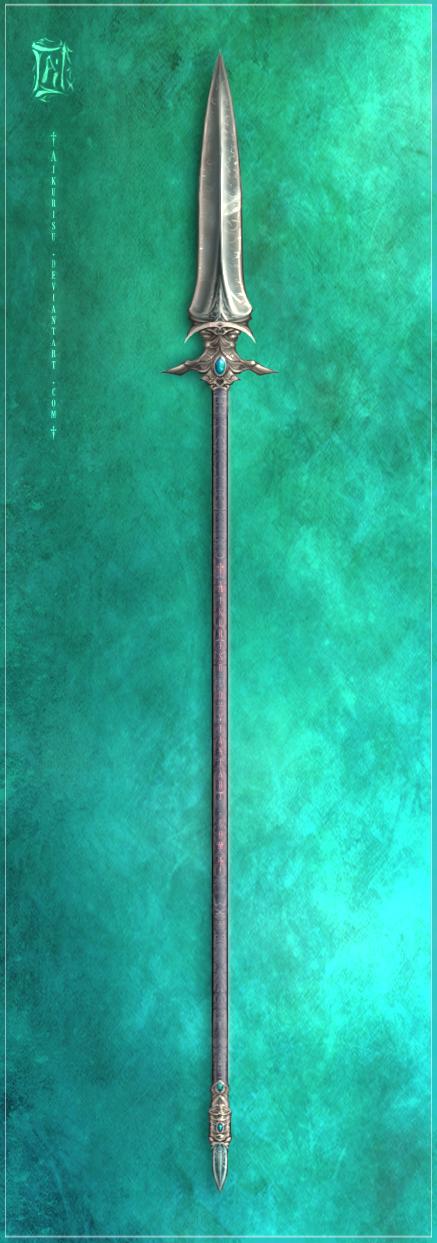 Evaryr's Spear by Aikurisu